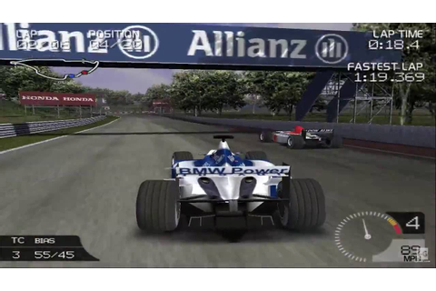 Formula One 2003 PS2 Gameplay HD - YouTube