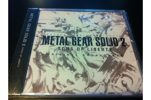 Metal Gear Solid 2 Sons of Liberty Soundtrack JAPAN ...