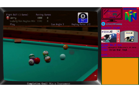 Virtual Pool 64: Game 15 of 296 Nintendo 64 Games ...