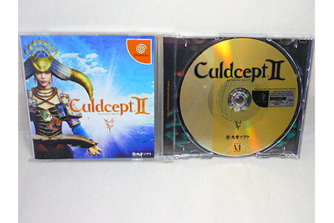 CULDCEPT II 2 Dreamcast Sega Import Japan Video Game dc ...