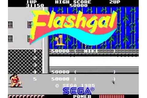 FLASHGAL ARCADE HD ((flashgal)) SEGA RETRO CLASSIC VINTAGE ...