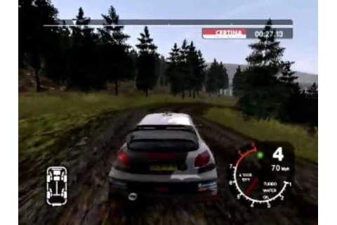 Colin McRae Rally 2005 Demo Gameplay - YouTube