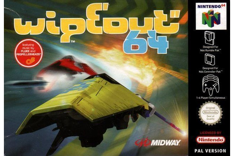 Wipeout 64 - Nintendo 64(N64) ROM Download