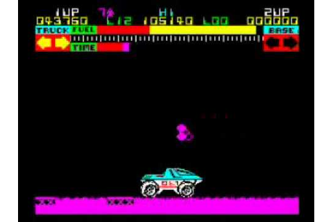 Lunar Jetman on the ZX Spectrum - Getting to Level 35 ...