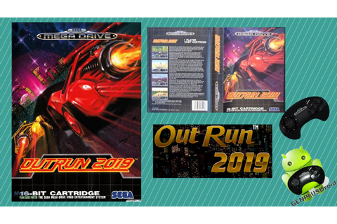 """OutRun 2019"" - Sega Genesis and Mega Drive - Gameplay ..."