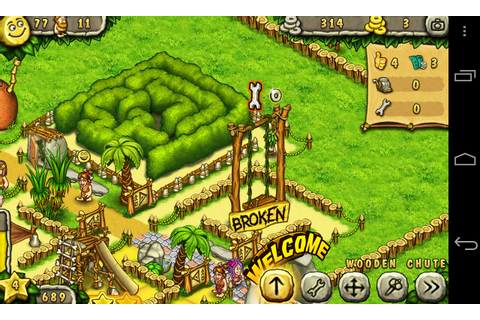 Prehistoric Park - In-game notifications - AndroidTapp