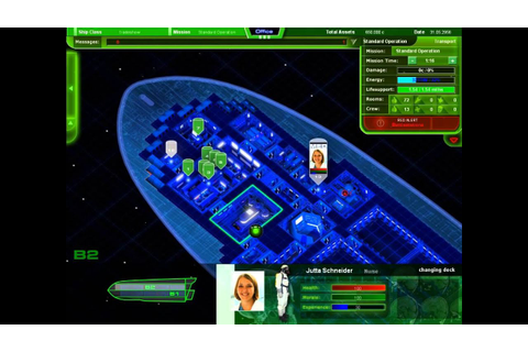 Starship Corporation - Crew Management Tutorial 1 - YouTube