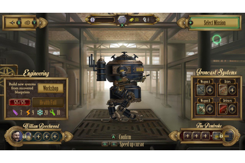 Steampunk Turn-Based Strategy Game Ironcast Lands On ...