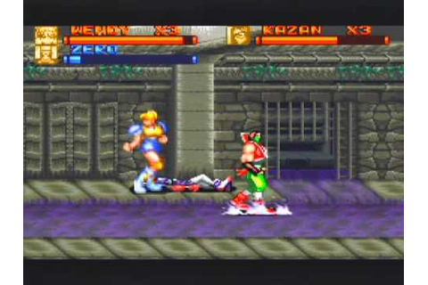 Brawl Brothers Game Sample - SNES/SFC - YouTube