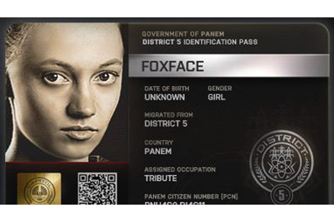 "THE HUNGER GAMES's ""Fox Face"" Actress Obsessed with ..."