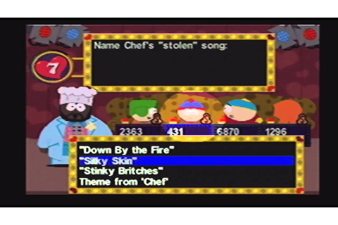 Shitty Game of the Week - South Park Chef's Luv Shack ...