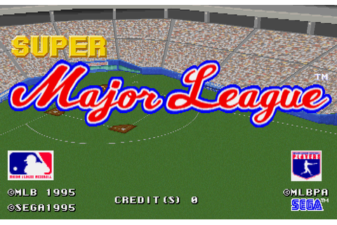 Super Major League sega st-v cart. by SEGA Enterprises ...