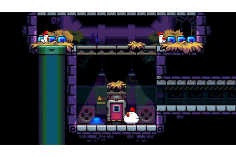 Bomb Chicken Review | GamesReviews.com