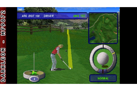 PlayStation - Actua Golf 3 (1999) - YouTube