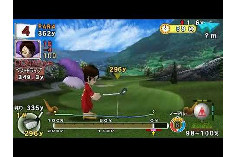 Everybody's Golf Portable 2 for PSP Online Tournament #1(1 ...