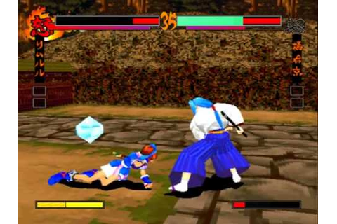 Samurai Shodown 64 / Samurai Spirit MAME Gameplay video ...