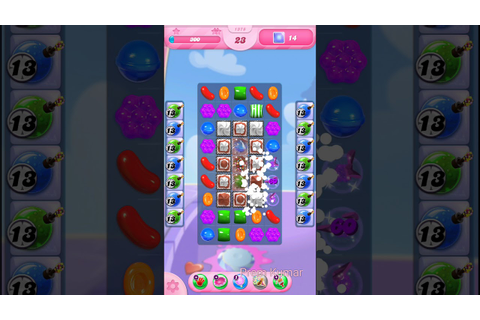 How to Cross 1378 Candy Crush Game Level - YouTube