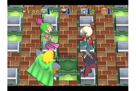 Bomberman Jetters (GCN): Mighty and Mujoe Multiplayer ...
