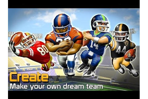 Top American NFL Football Games For iOS and Android 2014 ...