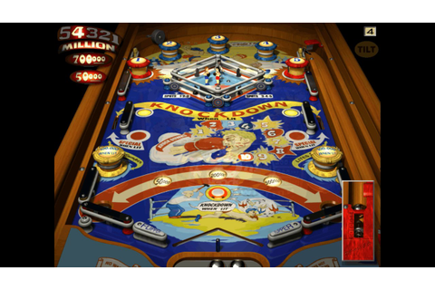 Microsoft Pinball Arcade - Knock Out - YouTube