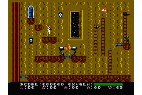 Dash Galaxy in the Alien Asylum Screenshots for NES ...