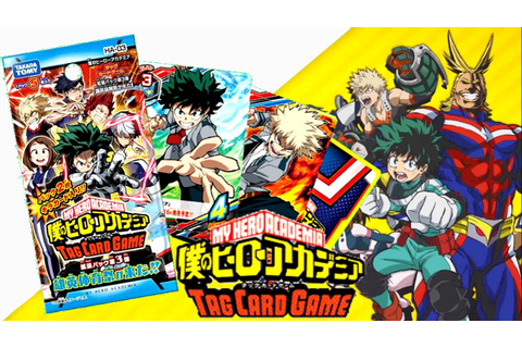 MY HERO ACADEMIA CARD GAME - Spacchettamento e ...