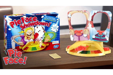 Hasbro Gaming Australia - 'Pie Face Showdown' Official T.V ...