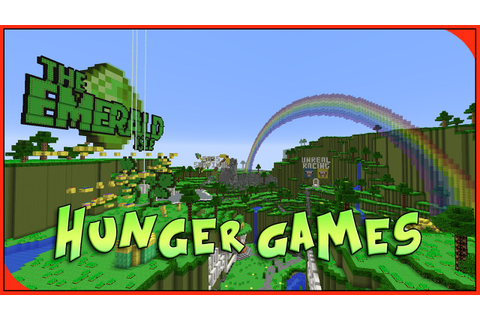 PC Minecraft - Hunger Games - The Emerald Isle - YouTube