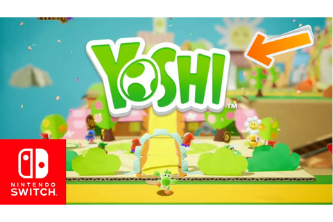 COULD THIS BE YOSHI'S WOOLY WORLD 2?! NEW YOSHI GAME ...