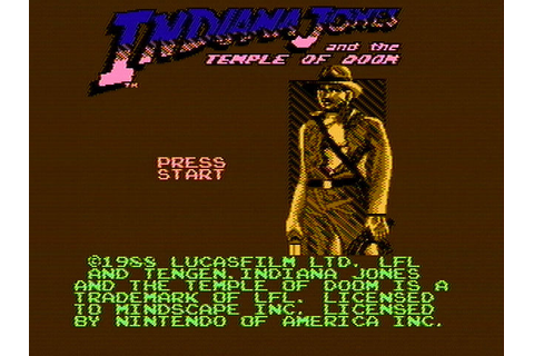 Download Indiana Jones and The Temple of Doom - My Abandonware