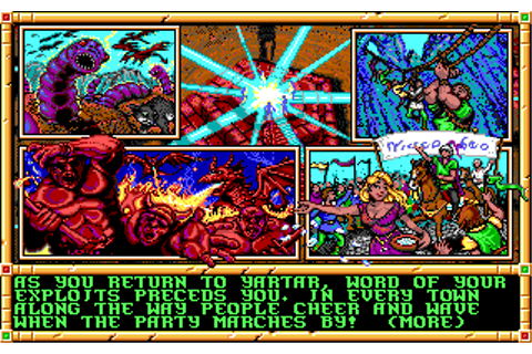 The CRPG Addict: Gateway to the Savage Frontier: Won!