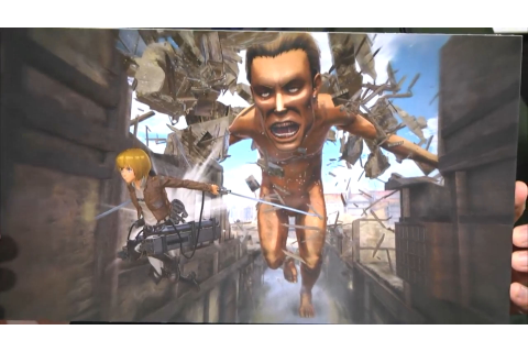 Attack on Titan 2 Confirmed for Switch, Vita, and PC in Japan