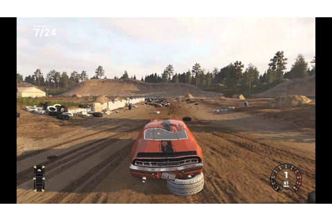 Next Car Game: Wreckfest Gameplay - YouTube