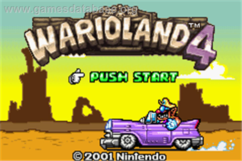 Wario Land 4 - Nintendo Game Boy Advance - Games Database