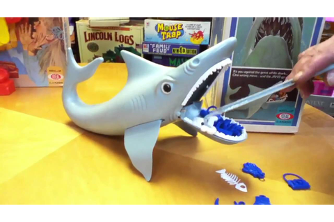 JAWS Shark Game Is Lame? Toy review by Mike Mozart of ...