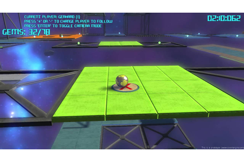 Ball Platform Game (Dexterity Ball 3D) (Bullet Physics ...