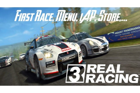 Real Racing 3 - First Race - HD Gameplay Trailer - YouTube