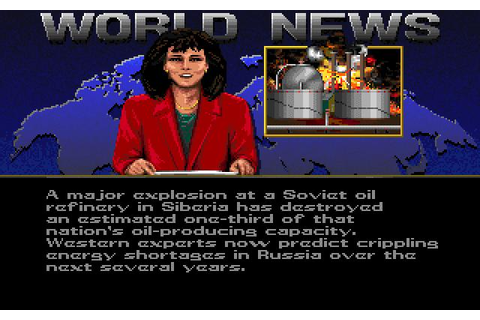 Red Storm Rising Download (1990 Amiga Game)