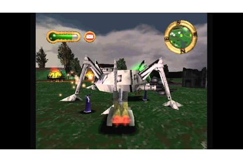 Jeff Wayne's The War of the Worlds PSone game - level 9 ...