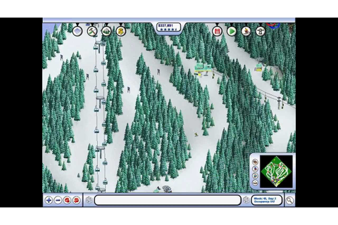 Ski Resort Tycoon: Deep Powder - Casual Gameplay - YouTube