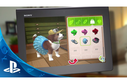 PlayStation Vita Pets: Puppy Parlour Trailer - YouTube
