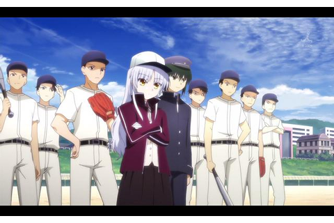 Angel Beats 04: Play Ball! | Janette's Atelier