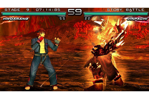 Tekken 5: Dark Resurrection PSP Gameplay HD (PPSSPP) - YouTube