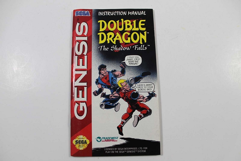 Manual - Gen_Double_Dragon_V_The_Shadow_Falls