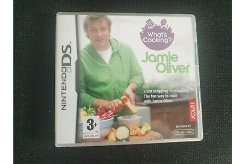 What`s Cooking With Jamie Oliver, Nintendo DS Game ...