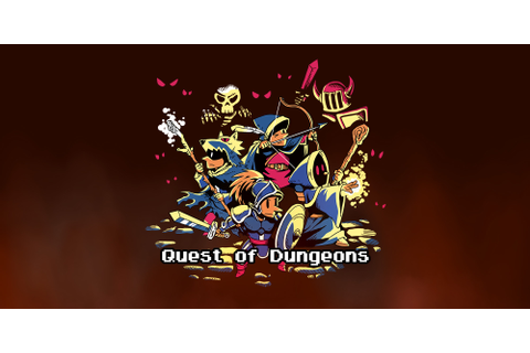Quest of Dungeons | Nintendo 3DS download software | Games ...