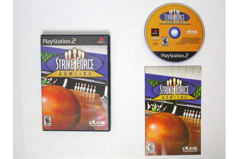 Strike Force Bowling game for Playstation 2 (Complete ...