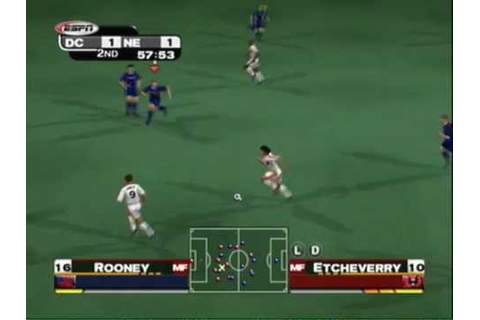 ESPN MLS Extra Time 2002 Gameplay: New England Revolution ...