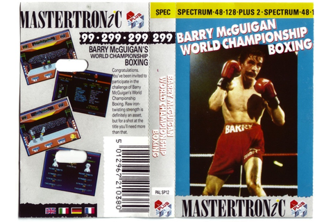 Barry McGuigan World Championship Boxing - World of Spectrum