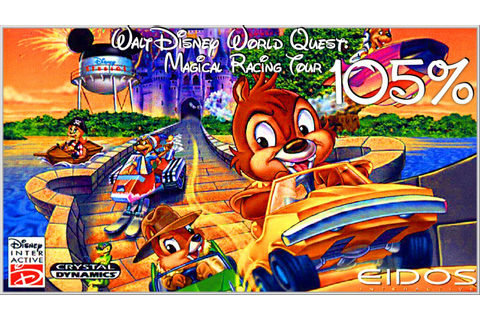 Walt Disney: World Quest: Magical Racing Tour - 105% ...